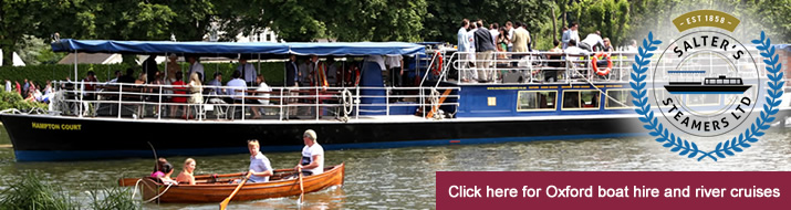 oxford boat hire